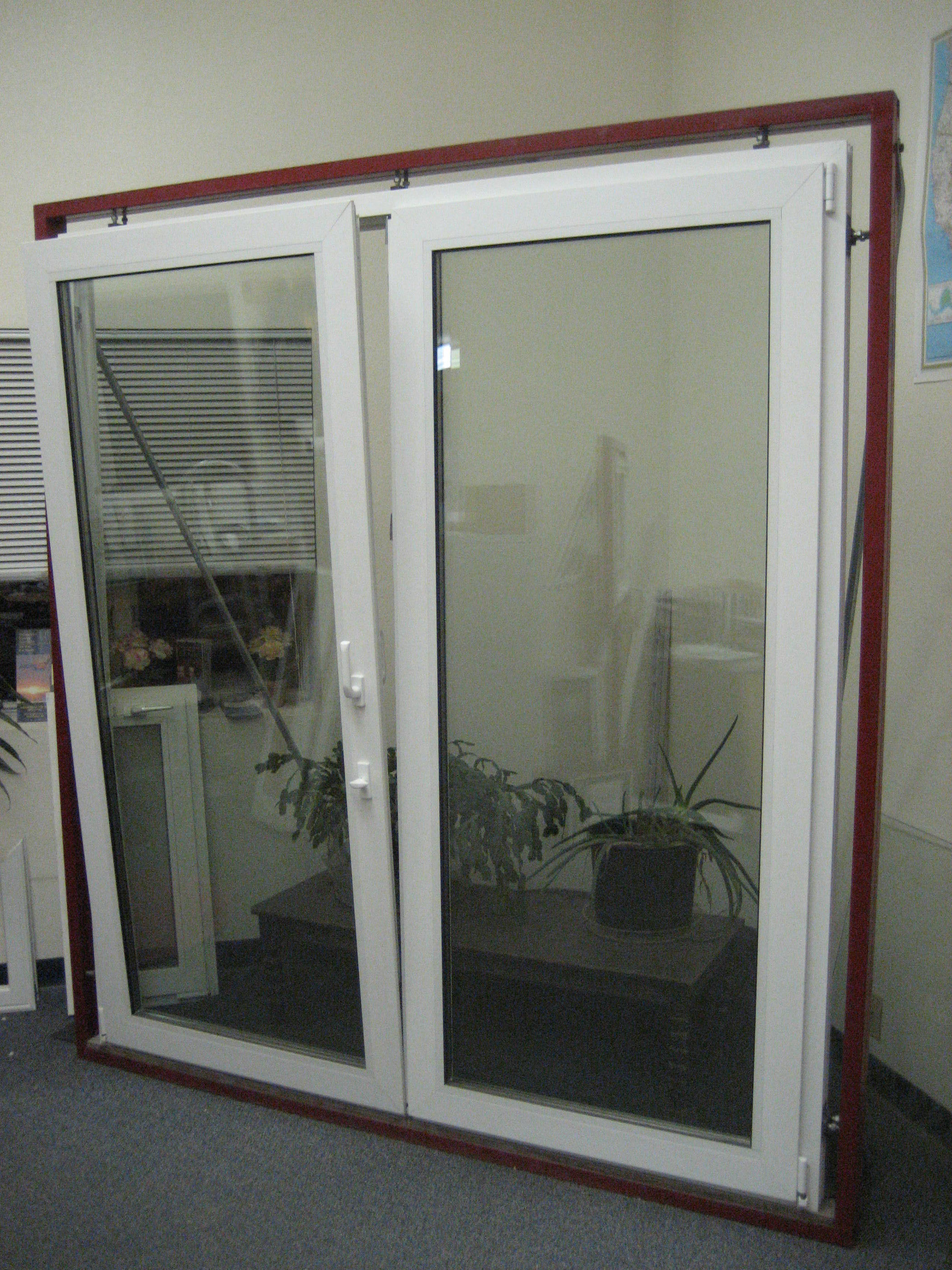 Great land window for Patio doors with windows that open